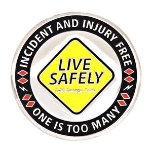 Safety program coin OG&E