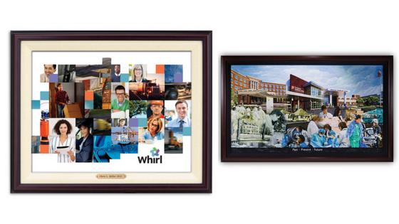 retirement collage